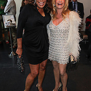 NLD/Amsterdam/20120420 - Show Joan Collins, Patty Brard en Conny Breukhoven