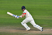 Liam Livingstone of Lancashire batting during the Specsavers County Champ Div 1 match between Somerset County Cricket Club and Lancashire County Cricket Club at the Cooper Associates County Ground, Taunton, United Kingdom on 14 September 2017. Photo by Graham Hunt.