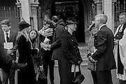 THE COUNTESS OF WESSEX; LADY AILSA MONTAGU , ; LORD RALPH MONTAGU OF BEAULIEU;  Service of Thanksgiving for the life of Edward Baron Montagu of Beaulieu. St. Margaret's Westminster. London. 20 January 2016