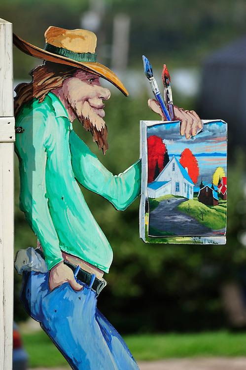 Les Eboulements,Artist town,Quebec, Canada,