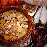 Traditional recipes offered to Barcelona's Sta. Caterina Green Market customers.<br />