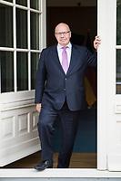 16 MAY 2018, BERLIN/GERMANY:<br /> Peter Altmaier, CDU, Bundeswirtschaftsminister, Bundesministerium fuer Wirtschaft und Energie<br /> IMAGE: 20180516-02-015