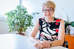 THEMENBILD - Adler Pharma-Geschäftsführerin Mag. pharm. Susana Niedan-Feichtinger. Die Adler Pharma Produktion und Vertrieb GmbH ist eine Pharma Firma und ist auf die Herstellung von Schüßler Salzen (Österreichs Marktführer) spezialisiert, aufgenommen am 29. Juni 2017, Bruck an der Großglocknerstraße, Österreich // Adler Pharma Managing Director Mag. Pharm. Susana Niedan-Feichtinger. Adler-Pharma Produktion und Vertrieb GmbH is a pharmaceutical company specialized in the production of Schüßler salts (Austria's market leader) in Bruck an der Großglocknerstraße, Austria on 2017/05/29. EXPA Pictures © 2017, PhotoCredit: EXPA/ JFK