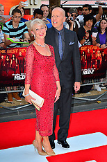 JULY 22 2013 Red 2 UK film premiere