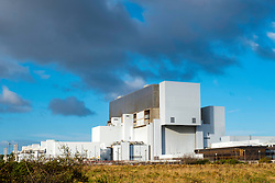 View of Torness Nuclear Power station in Scotland, United Kingdom.