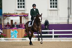 Dwyer James (IRL) - Orlando<br /> Individual Freestyle - Grade IV<br /> London 2012 Paralympic Games<br /> © Hippo Foto - Jon Stroud