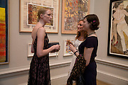 JADE PARFITT, AMY PARFITT AND JASMINE GUINNESS, 240th Royal Academy Summer Exhibition fundraising private view. Piccadilly. London.4 June 2008.  *** Local Caption *** -DO NOT ARCHIVE-© Copyright Photograph by Dafydd Jones. 248 Clapham Rd. London SW9 0PZ. Tel 0207 820 0771. www.dafjones.com.