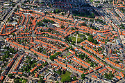 Nederland, Overijssel, Enschede, 30-06-2011; tuindorp Pathmos, arbeidersbuurt, met Thomas Ainsworthpark.QQQ..luchtfoto (toeslag), aerial photo (additional fee required).copyright foto/photo Siebe Swart