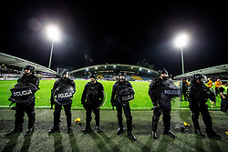Police during football match between NK Maribor and NK Olimpija Ljubljana in 34th Round of Prva liga Telekom Slovenije 2017/18, on May 19, 2018, in Stadion Ljudski vrt, Maribor, Slovenia. Photo by Vid Ponikvar / Sportida