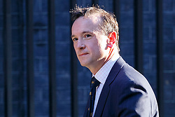 © Licensed to London News Pictures. 31/03/2016. London, UK. Welsh Secretary ALUN CAIRNS attending a meeting to discuss Tata Steel's decision to sell its UK business with Prime Minister David Cameron in Downing Street on Thursday, 31 March 2016. Photo credit: Tolga Akmen/LNP