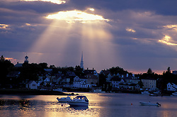 Portmsouth Harbor. Boats. New England Scenics.  June.  Portsmouth, NH