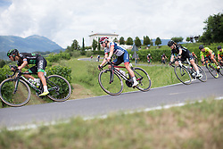 Stephanie Pohl (GER) of Cervélo-Bigla Cycling Team leans into a corner on the descent from Ca' dell Poggio during Stage 3 of the Giro Rosa - a 100 km road race, between San Fior and San Vendemiano on July 2, 2017, in Treviso, Italy. (Photo by Balint Hamvas/Velofocus.com)