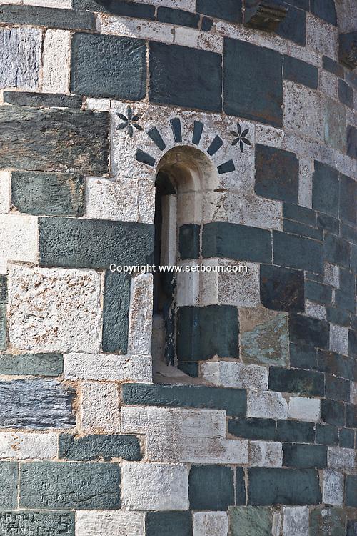 Corsica. France. Church of Murato village, in Nebbio area, Corsica North, France