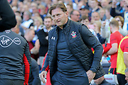Southampton manager Ralph Hasenhuttl during the Premier League match between Brighton and Hove Albion and Southampton at the American Express Community Stadium, Brighton and Hove, England on 30 March 2019.