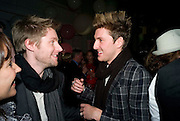 CHRISTOPHER BAILEY; HENRY HOLLAND;, Vogue Fantastic  Fashion Fantasy Party in association with  Van Cleef and Arpels and to celebrate Vogue's secret address book. 1 Marylebone Rd. London. 3 November 2008 *** Local Caption *** -DO NOT ARCHIVE -Copyright Photograph by Dafydd Jones. 248 Clapham Rd. London SW9 0PZ. Tel 0207 820 0771. www.dafjones.com
