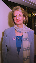 BARONESS JAY at a luncheon in London on 12th October 1998.MKR 66