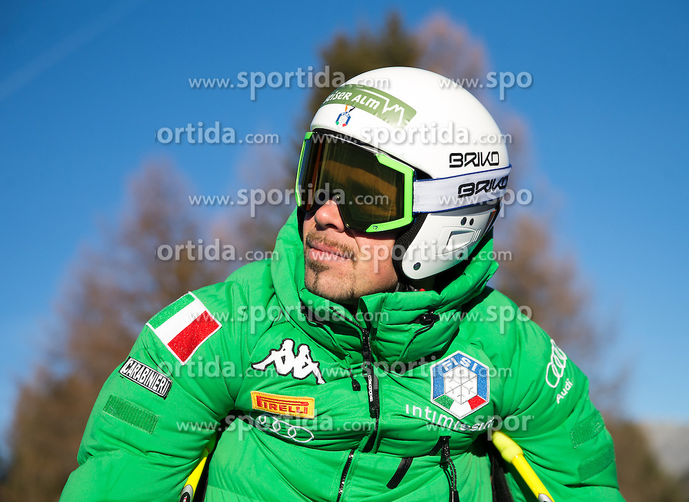 26.12.2015, Deborah Compagnoni Rennstrecke, Santa Caterina, ITA, FIS Ski Weltcup, Santa Caterina, Abfahrt, Herren, 1. Training, Streckenbesichtigung, im Bild Peter Fill (ITA) // Peter Fill of Italy during the course inspection of 1st practice run of men's Downhill of the Santa Caterina FIS Ski Alpine World Cup at the Deborah Compagnoni Course in Santa Caterina, Italy on 2015/12/26. EXPA Pictures © 2015, PhotoCredit: EXPA/ Johann Groder
