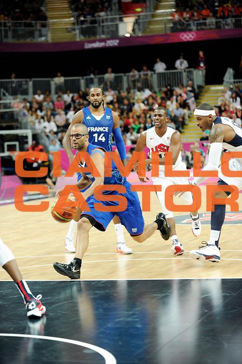 TDESCRIZIONE : France Basket Jeux Olympiques Londres <br /> GIOCATORE : PARKER TONY FRA<br /> SQUADRA : France Homme<br /> EVENTO : FRANCE basket Jeux Olympiques<br /> GARA : FRANCE USA<br /> DATA : 29 07 2012<br /> CATEGORIA : Basketball Jeux Olympiques<br /> SPORT : Basketball<br /> AUTORE : JF Molliere <br /> Galleria : France JEUX OLYMPIQUES 2012 Action<br /> Fotonotizia : France Basket Homme Jeux Olympiques Londres premier tour France Usa<br /> Predefinita :