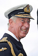 Prince Charles Views NATO Exercise Start