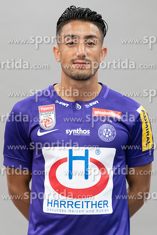 16.07.2019, Generali Arena, Wien, AUT, 1. FBL, FK Austria Wien, Fototermin, im Bild Caner Cavlan // Caner Cavlan during the official team and portrait photoshooting of tipico Bundesliga Club FK Austria Wien for the upcoming Season at the Generali Arena in Vienna, Austria on 2019/07/16. EXPA Pictures © 2019, PhotoCredit: EXPA/ Florian Schroetter