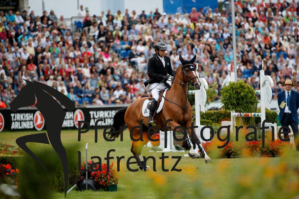 Lamaze, Eric (CAN), Fine Lady<br /> Aachen - CHIO 2017<br /> Grosser Preis von Aachen Rolex Grand Prix<br /> © www.sportfotos-lafrentz.de/Stefan Lafrentz