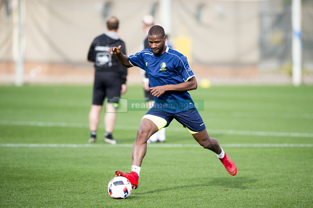 January 6, 2018 - Oliva, SPAIN - Gent's Mamadou Sylla pictured in action during the second day of the winter training camp of Belgian first division soccer team KAA Gent, in Oliva, Spain, Saturday 06 January 2018. BELGA PHOTO JASPER JACOBS (Credit Image: © Jasper Jacobs/Belga via ZUMA Press)