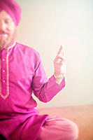Man holding the sacred yoga mudra.<br /> :::<br /> &quot;Do everything as if it were the only thing in the world that mattered, <br /> while all the time knowing that it doesn't matter at all.&quot;<br /> ~ Pema Chodron
