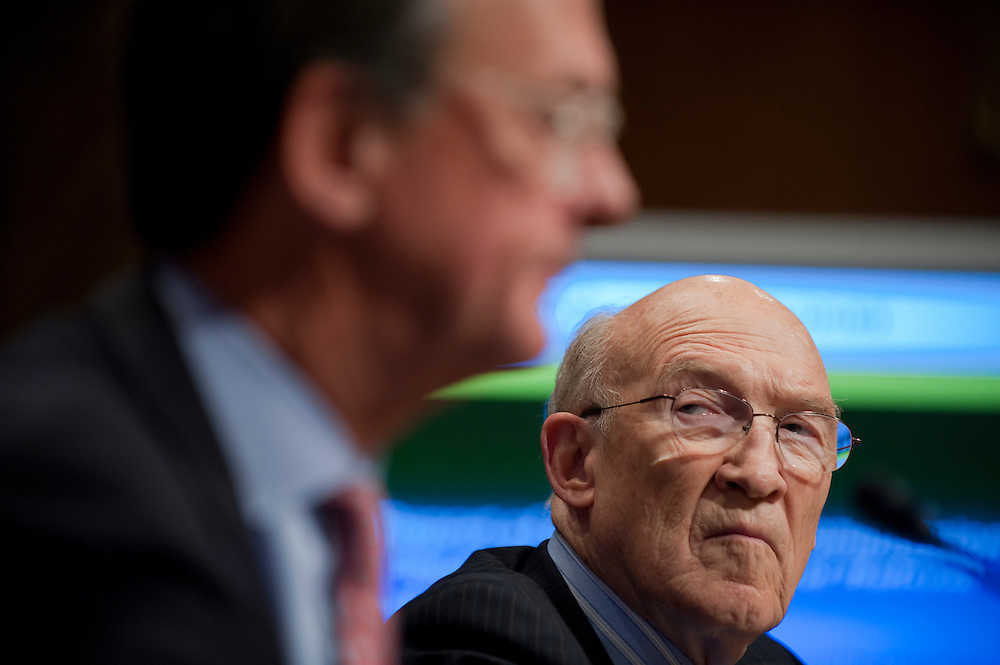 ERSKINE BOWLES, former White House chief of staff, and Former Senator ALAN SIMPSON (R-WY) co-chairmen of the National Commission on Fiscal Responsibility and Reform, testify before a Senate Budget Committee - Hearing on the report of the National Commission on Fiscal Responsibility and Reform.