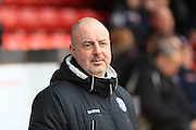 Keith Hill during the Sky Bet League 1 match between Walsall and Rochdale at the Banks's Stadium, Walsall, England on 2 January 2016. Photo by Daniel Youngs.