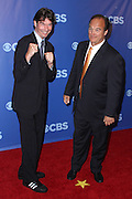 Jerry O'Connell and Jim Belushi attend the 2010-2011 CBS Upfront Arrivals at Lincoln Center in New York City on May 19, 2010...