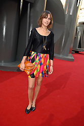 ALEXA CHUNG at the Royal Academy of Art Summer Exhibition Preview Party on 4th June 2008.<br />
