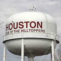 (Floyd Ingram / Buy at photos.chickasawjournal.com)<br /> The Houston water tank is just one of several expensive facilities and fixtures the city must maintain and budget to replace with water revenue funds. Aldermen voted last week to fund a water loop for north Houston to benefit business and industry.