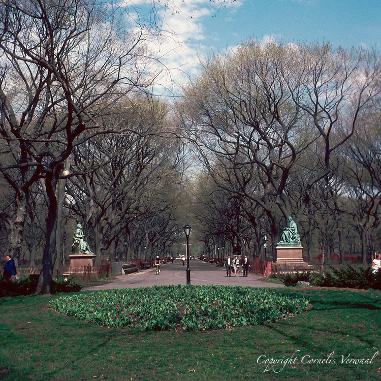 The Mall in Central Park, 1989