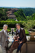 Italy, Tuscany, Il Borro, resort, Spa, and winery, ownde by Ferragamo Family.Ferruccio and Salvatore Ferragamo