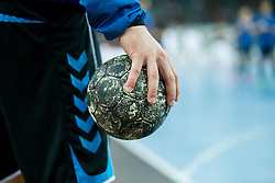 Ball before handball match between PPD Zagreb (CRO) and Paris Saint-Germain (FRA) in 11th Round of Group Phase of EHF Champions League 2015/16, on February 10, 2016 in Arena Zagreb, Zagreb, Croatia. Photo by Urban Urbanc / Sportida