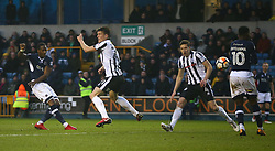 January 27, 2018 - London, United Kingdom - Tom Elliott of Millwall.during FA Cup 4th Round match between Millwall against Rochdale  at The Den, London on 27 Jan 2018  (Credit Image: © Kieran Galvin/NurPhoto via ZUMA Press)