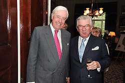 A party to promote the exclusive Puntacana Resort & Club - the Caribbean's Premier Golf & Beach Resort Destination, was held at Spencer House, London on 13th May 2010.<br /> <br /> Picture shows:- Left to right, RUPERT HAMBRO and GEORGE MAGAN