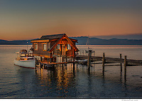 Boathouse - Lakeshore Residence, Lake Tahoe for Sandbox Studio and Loverde Builders