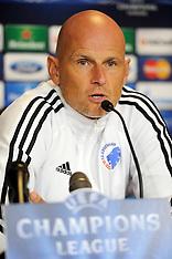 20130916 FC København træning og pressemøde UEFA Champions League