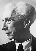 Bertrand Arthur William Russell, 3rd Earl Russell (1872-1970). British philosopher and mathematician. Nobel prize for literature 1950. PHOTOGRAPH COURTESY OF THE NOBEL FOUNDATION