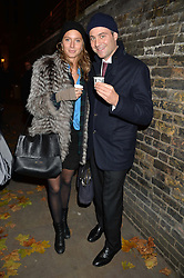 BEN GOLDSMITH and JEMIMA JONES at the Fortnum & Mason and Quintessentially Foundation Fayre of St.James's in association with The Crown Estate held at St.James's Church, Piccadilly followed but a reception at Fortnum & Mason, Piccadilly,London on 5th December 2013.