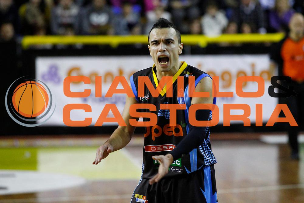 DESCRIZIONE : Barcellona Pozzo di Gotto Campionato Lega Basket A2 2012-13 Sigma Basket Barcellona Upea Orlandina Capo dOrlando <br /> GIOCATORE : Marco Passera<br /> SQUADRA : Orlandina Upea Capo dOrlando<br /> EVENTO : Campionato Lega Basket A2 2012-2013<br /> GARA : Sigma Basket Barcellona Upea Orlandina Capo dOrlando<br /> DATA : 28/12/2012<br /> CATEGORIA : Delusione Ritratto<br /> SPORT : Pallacanestro <br /> AUTORE : Agenzia Ciamillo-Castoria/G.Pappalardo<br /> Galleria : Lega Basket A2 2012-2013 <br /> Fotonotizia : Barcellona Pozzo di Gotto Campionato Lega Basket A2 2012-13 Sigma Basket Barcellona Upea Orlandina Capo dOrlando<br /> Predefinita :