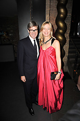 MR TIM & LADY HELEN TAYLOR at The Love Ball hosted by Natalia Vodianova and Lucy Yeomans to raise funds for The Naked Heart Foundation held at The Round House, Chalk Farm, London on 23rd February 2010.