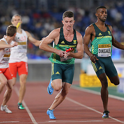 YOKOHAMA, JAPAN - MAY 11: Pieter Conradie of South Africa during day 1 of the IAAF World Relays at Nissan Stadium on May 11, 2019 in Yokohama, Japan. (Photo by Roger Sedres/Gallo Images)