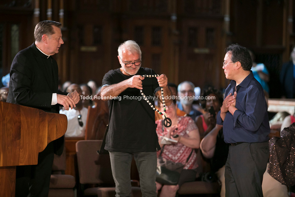 6/11/17 4:13:24 PM --  Chicago, IL<br /> The Negaunee Music Institute at the Chicago Symphony Orchestra <br /> <br /> Yo-Yo Ma Presents a Concert for Peace <br /> Presented in partnership with St. Sabina Church<br /> <br />  &copy;&nbsp;Todd Rosenberg Photography 2017