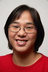 Portrait of a single parent smiling,