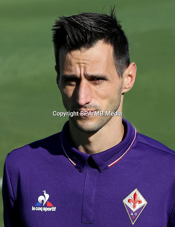 Italian League Serie A -2016-2017 / <br /> ( ACF Fiorentina ) - <br /> Nikola Kalinic
