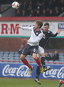 Will Vaulks and Adam Cummins - Dundee  v Falkirk - SPFL Championship at Dens Park<br /> <br />  - &copy; David Young - www.davidyoungphoto.co.uk - email: davidyoungphoto@gmail.com