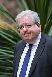 Downing Street, London, November 17th 2015. Transport Secretary Patrick McLoughlin arrives at Downing Street for the weekly cabinet meeting.