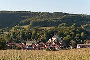 Großkochberg mit Schloss und Park, Thüringen, Deutschland   Großkochberg with castle and park, Thuringia, Germany